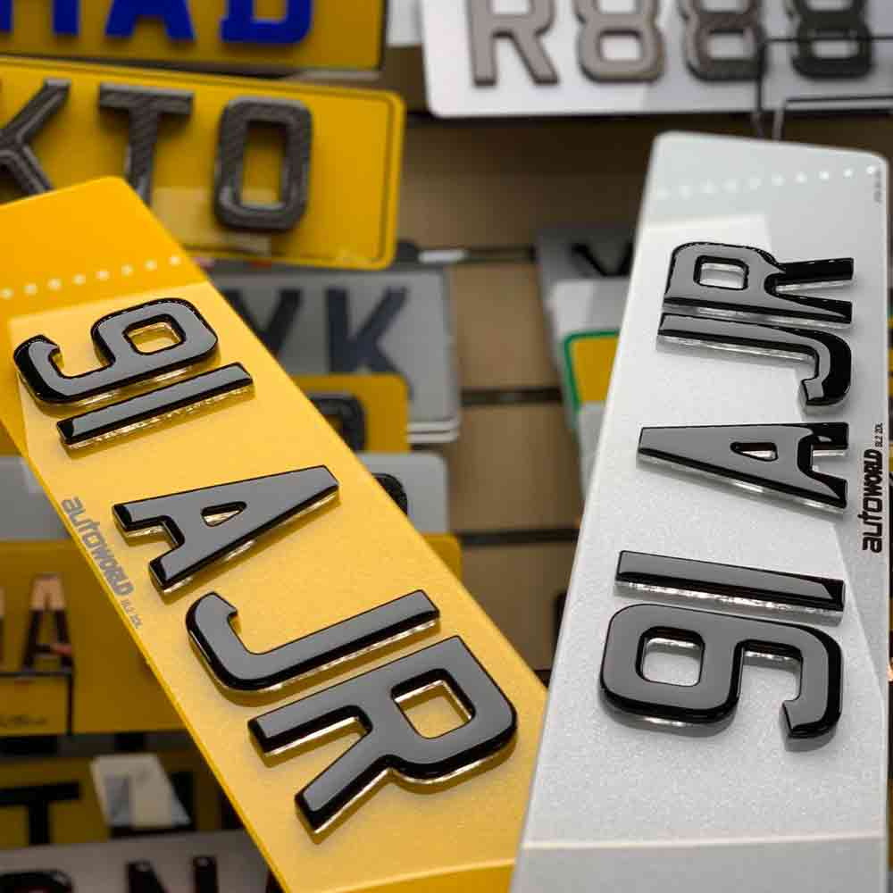 How To Register A Private Number Plate