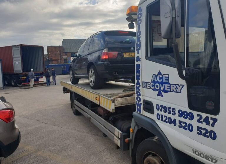 What To Know About Blown Out Tyre Van Recovery In Bolton?